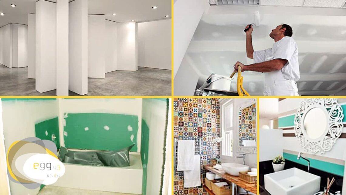 Aprenda como usar o Drywall na sua casa