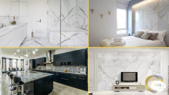 Como usar o mármore na decoração de interiores